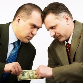 مذاکره کننده ای با رفتار رقابتی