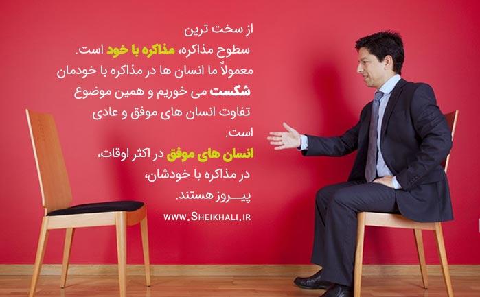 مذاکره با خود