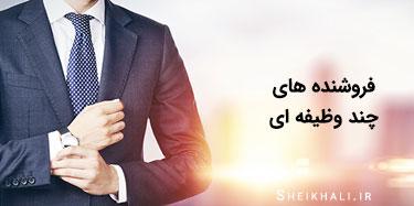 فروشنده موفق و حرفه ای